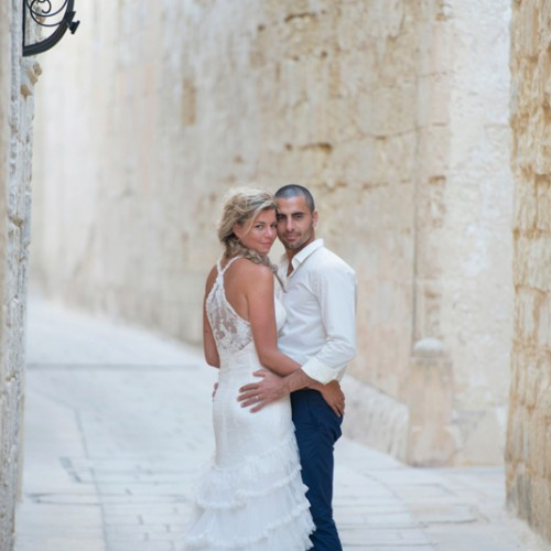 Destination wedding in Malta