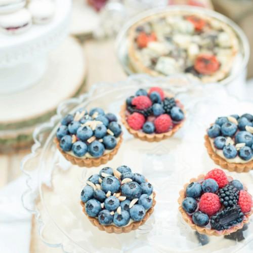 Foodfotografie van het heerlijke eten tijdens jullie bruiloft