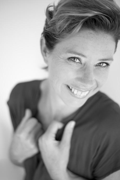 Vrouwelijke glamour portret fotograaf