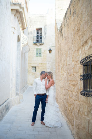 Destination wedding in het Europese Malta