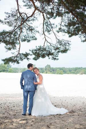 Investering in bruidsreportage in het Brabantse Breda