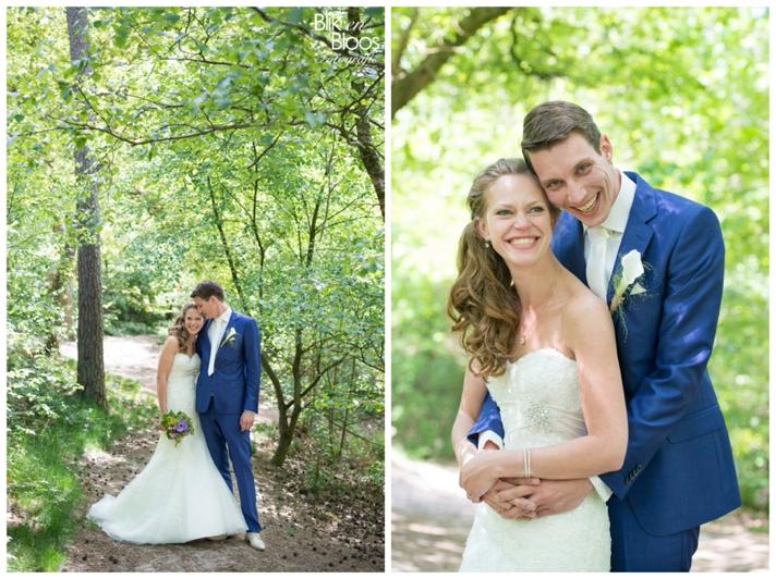 trouwfoto-bos-dorst-bruiloft-breda