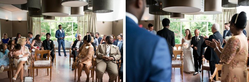 22-bruiloft-ceremonie-entree-bruid-bruidegom-in-den-rustwat-rotterdam