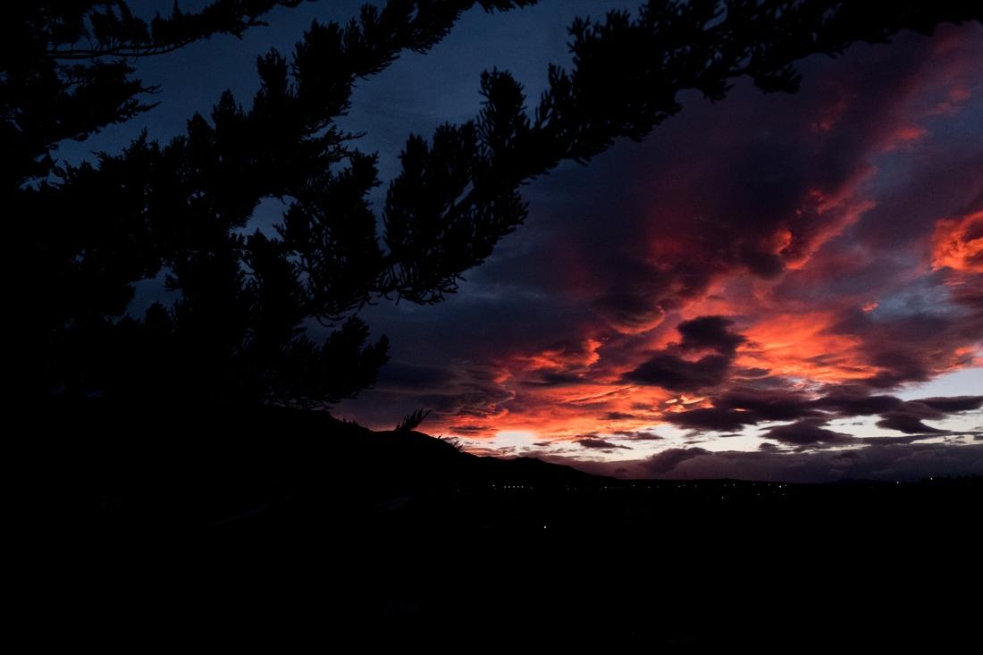 zonsondergang-reisfoto-argentinie-el-calafate