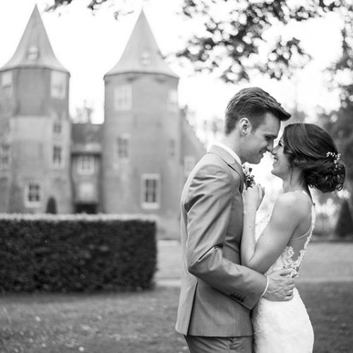 zwart-wit-bruiloft-fotografie-romantisch-kasteel