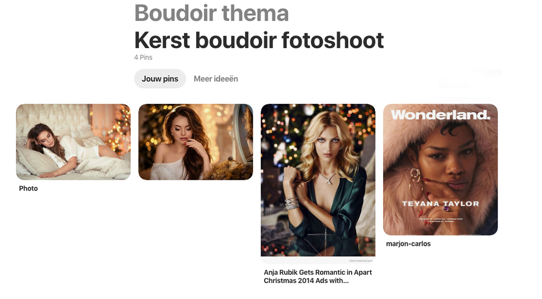 boudoir-kerst-thema-pinterest-moodboard